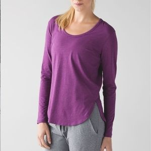 Lululemon Long Sleeve Love Shirt Sz 4 EUC